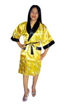 Asiatisk Morgenkåbe Unisex Kimonoer