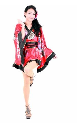 Blomstermotiv Kimono Kimono Kjoler