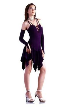 76d7dfd7 Stilfuld Kort Rosa Kjole - Korte Kjoler