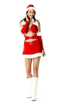 Chic Santa Dress Christmas Dresses