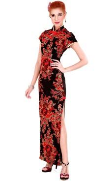 Exklusiv Kina Kjole Asiatiske Kjoler