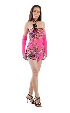 Forførende Asian Minikjole Asiatiske Kjoler