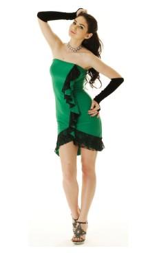 Grøn Salsa kjole