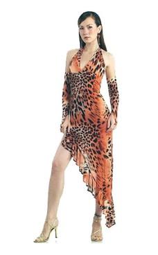 Hed Leopard Dansekjole