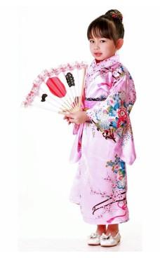 Japansk Kimono Børnekjole Kimono Børnekjoler