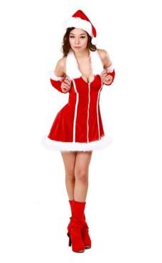 Jule Kjole Kostume Julekjoler
