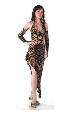 Leopard Dansekjole
