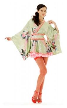 Mini Kimono Kostume Kimono Kjoler