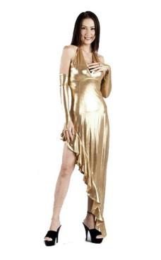Sexede Guld Kjole