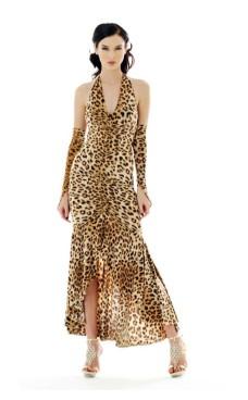 Sexede Leopard Kjole