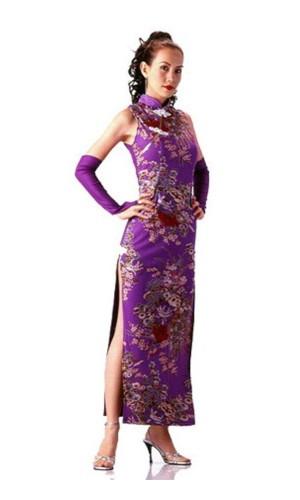 Smuk Lilla Cheongsam Asiatiske Kjoler