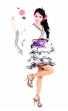 Stilfuld Lagdelt Kimono Kimono Kjoler