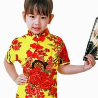 Asiatiske Børnekjoler